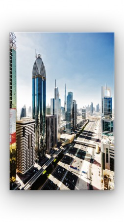 Sheikh Zayed Road in Dubai – Bild 1
